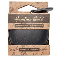 Hemline Gold - Retractable Tape Measure - 150cm/60in