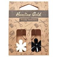 Hemline Gold - Flower Needle Threader