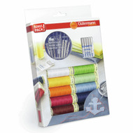 Gutermann Thread Set: Sew-All: 10 x 100m and Sewing Needles