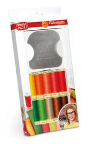 Gutermann Thread Set: Sew-All: 10 x 100m and Sewing Contour