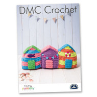 DMC Crochet Pattern Beach Huts