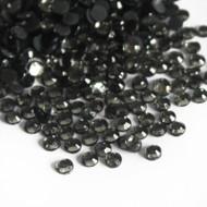 Hot Fix Rhinestones - Black Diamond