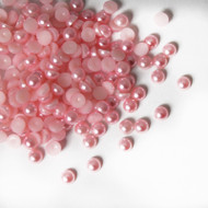 Flat back Pearls - Pink
