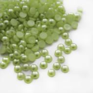 Flat back Pearls - Light Green
