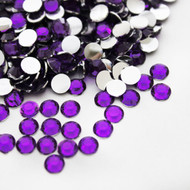 Flat back Rhinestones - Purple