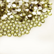Flat back Rhinestones - Light Yellow