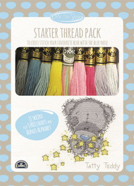 DMC Me to You Tatty Teddy Starter Thread Pack 11 x 8m Skeins