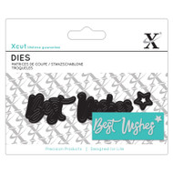X-Cut Mini Best Wishes Die