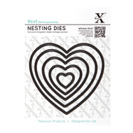 X-Cut Nesting Heart Dies