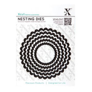 X-Cut Nesting Scalloped Circle Dies