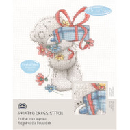 DMC Printed Cross Stitch Kit Tatty Teddy - Gift