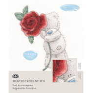 DMC Printed Cross Stitch Kit Tatty Teddy- Rose