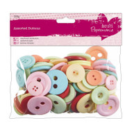 Papermania Vintage Mixed Buttons 250g
