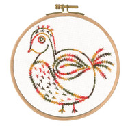 DMC Embroidery Kit - Little Birds - Why Am I Here?