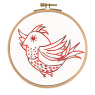 DMC Embroidery Kit - Little Birds - Free Spirit