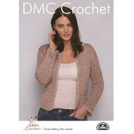 DMC Natura Linen Crochet Pattern - Channelling The Jacket