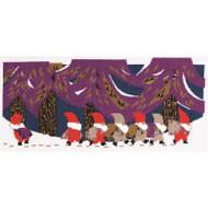 DMC Tomte Cross Stitch Kit - Tomte Parade