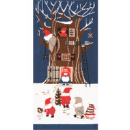 DMC Tomte Cross Stitch Kit - Tomte Tree House
