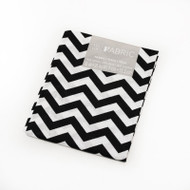 Darice Fabric Fat Quarter - Black Chevrons
