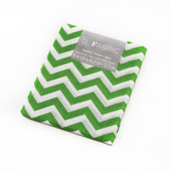 Darice Fabric Fat Quarter - Lime Green Chevrons