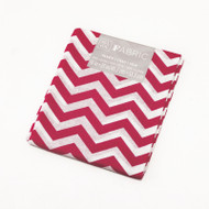 Darice Fabric Fat Quarter - Pink Chevrons