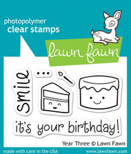 Lawn Fawn Year Three Stamps