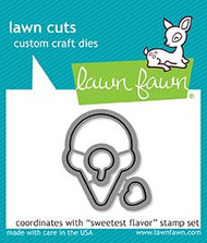 Lawn Fawn Sweetest Flavor Die