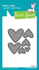 Lawn Fawn Hearts Dies