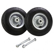 """8"""" Solid Rubber Tire Kit (for 4', 5', 6', 8' ladders)"""