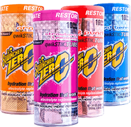 Qwik Stik ZERO 10 Count Tube - Assorted Flavors: 1 Case