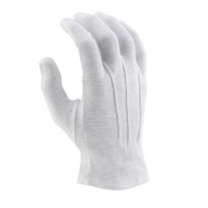 White Sure-grip Gloves