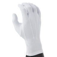 White Nylon (one-size-fits-all) Gloves