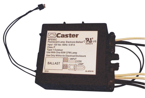 Caster Bfe65c 65w Cfl Ballast With Photocell. Caster Bfe65c With Photo Eye. Wiring. Photocell With Metal Halide Ballast Wiring Diagram At Scoala.co