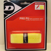 Dunlop Pro PU Replcement Grip-Yellow