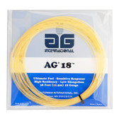AG 18 Tennis String Set-18-Natural