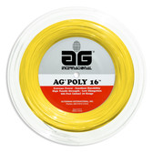 AG Poly 16 Polyester Tennis String Reel-Yellow