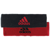 Adidas Interval Reversible Headband-University Red/Black