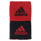 Adidas Interval Reversible Wristband-University Red/Black