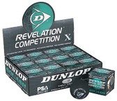 Dunlop Competition - Single Yellow Dot Squash Ball