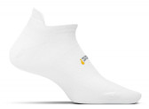 Feetures Ultra Light No Show Tab Sock White