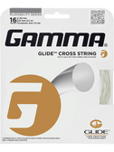Gamma Glide Cross Tennis String Set-16-Crystal