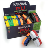 Karakal PU Super Grip Box 24 Duo Replacement Grip-Assorted Colors