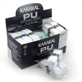 Karakal PU Super Grip Box 24 Replacement Grip-White