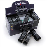 Karakal PU Super Grip Box 24 Replacement Grip-Black