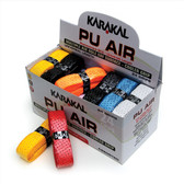 Karakal PU Super Air Box 24 Squash Grip-Assorted Colors