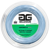 AG Millenium Coarse Tennis String Reel-16-Light Blue