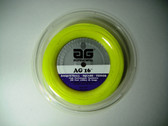 AG 16 Synthetic Gut Tennis String Reel-16-Yellow