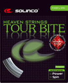 Solinco Tour Bite Diamond Rough Tennis String Set-16L-Silver