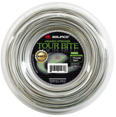 Solinco Tour Bite Soft Tennis String Reel-16G-Light Silver
