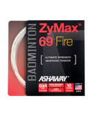 Ashaway ZyMax 69 Fire Badminton String Set-Ivory White